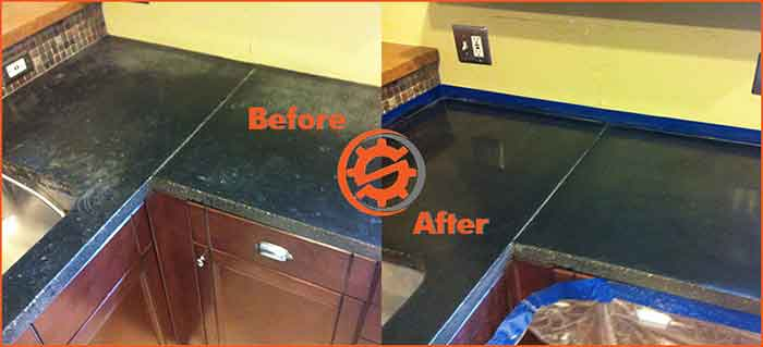 Removing Stains and Discoloration on Natural Stone